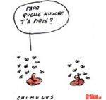 Le Pen : Brouille politique entre père et fille - Dessin de Chimulus