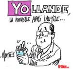 Hollande à nouveau sous les 20% - Dessin de Mutio