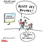 Coupe du Monde : France - Allemagne, les vieux démons - Dessin de Chimulus