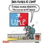 Déroute à l'UMP - Dessin de Lasserpe