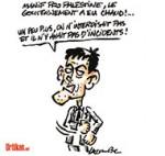 """Valls : une """"minorité de forces radicales"""" - Dessin de Lacombe"""
