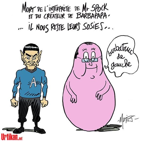 Hommage Spock Barbapapa - Dessin de Mutio