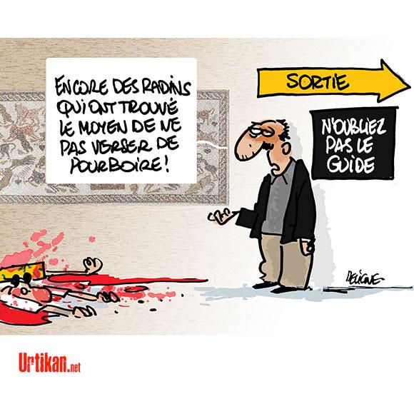 Attentat à Tunis: Qui sont les victimes du musée du Bardo? - Dessin de Deligne