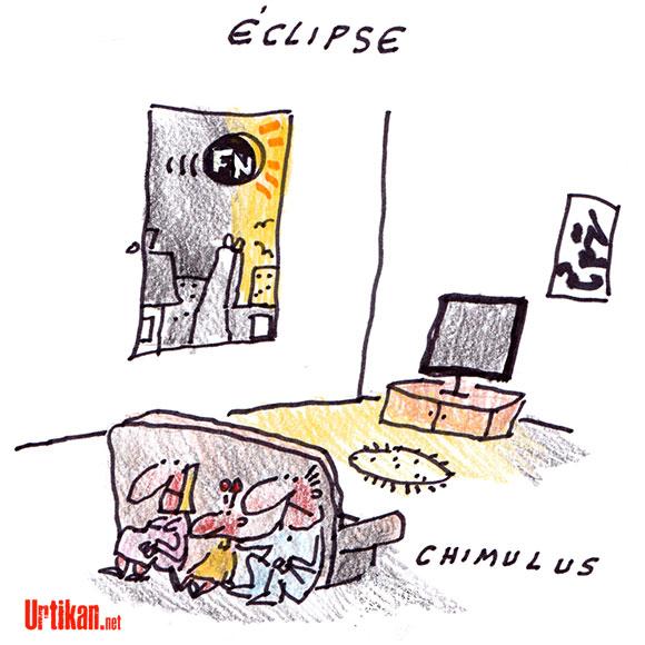 Eclipse : Noir c'est noir - Dessin de Chimulus