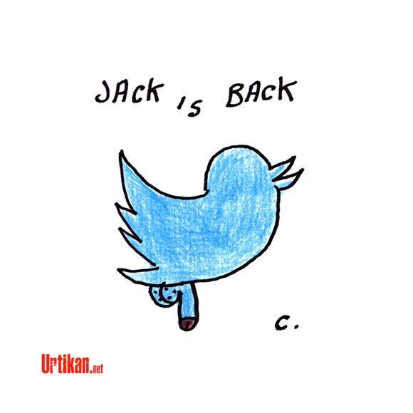 Twitter : DSK m'a tuer - Dessin de Chimulus