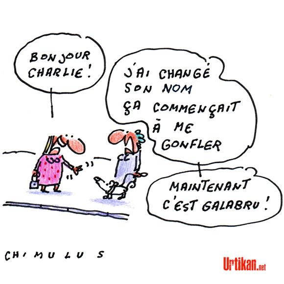 Hommage : Michel Galabru - Dessin de Chimulus