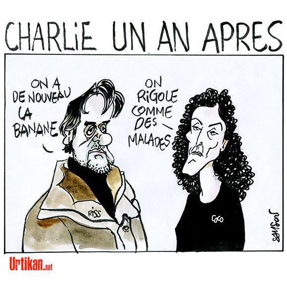 Charlie, même pas mort - Coco & Riss - Dessin de Samson
