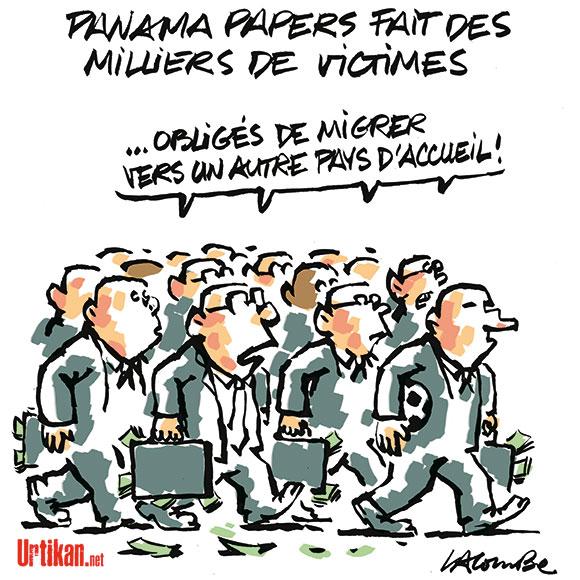 Panamapapers : pauvres riches ! - Dessin de Lacombe