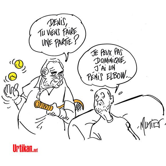 """Denis Baupin : """"Je ne suis pas le DSK des Verts"""" - Dessin de Mutio"""