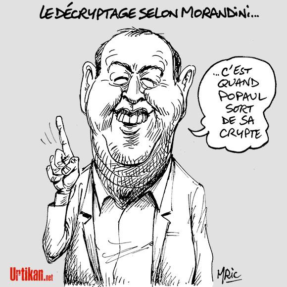 Affaire Jean-Marc Morandini : le conflit s'enlise à iTélé - Dessin de Mric