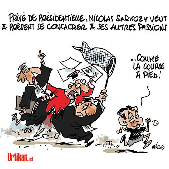 Et maintenant, que va faire Nicolas Sarkozy? - Dessin de Deligne
