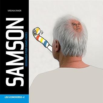 Couverture du Livre de dessin de SAMSON, Les Iconovores