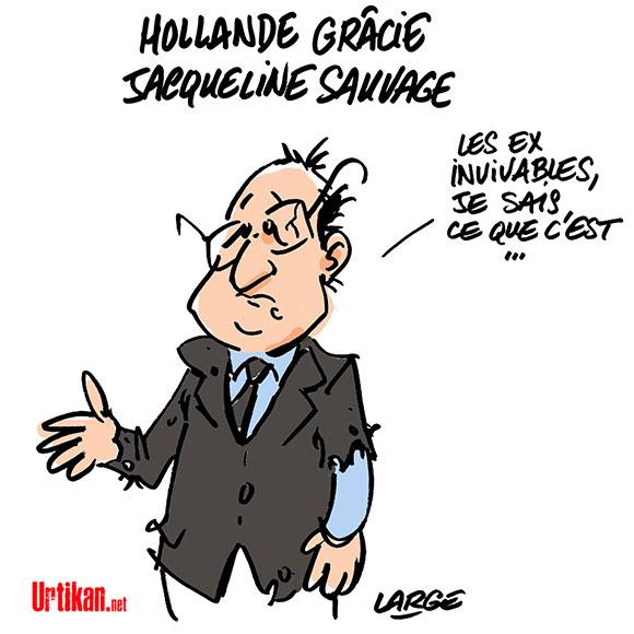 """Libération """"imminente"""" de Jacqueline Sauvage - Dessin de Large"""
