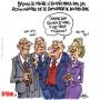 Coronavirus : Bruno Le Maire appelle les entreprises à réduire leurs dividendes - Dessin de Cambon