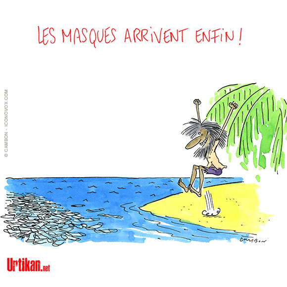 Dessins de presse  - Page 3 200528-les_masques_arrivent_enfin-cambon-full