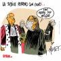 Malgré le déconfinement, la justice en France tourne au ralenti - Dessin de Mutio