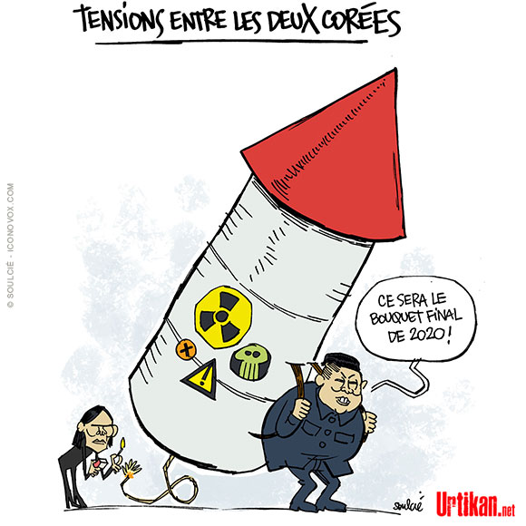 Tensions exacerbées entre la Corée du Nord et la Corée du Sud