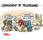 Cet été, des vacances en France… avec prudence - Dessin de Mutio