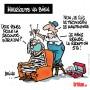 Covid-19 : Rumeur de décès pour la première vaccinée de France - Dessin de Deligne
