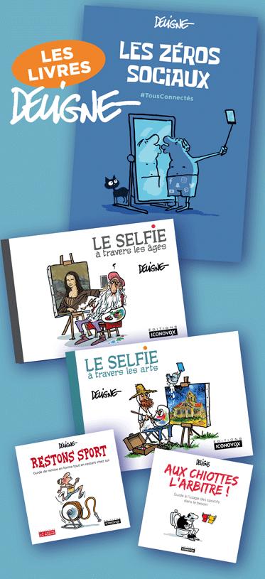 Les livres de DELIGNE aux Editions Iconovox