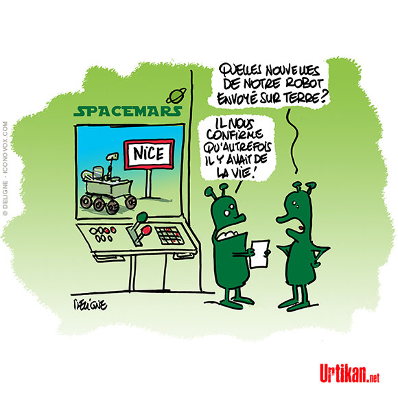Confinement ce week-end à nice - Dessin de Deligne