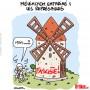 Mélenchon enfariné lors du défilé contre l'extrême droite - Dessin de Lasserpe
