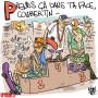 Les Jeux Olympiques et les jeunes - Dessin de Rémy Cattelain