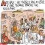 Vaccins : les effets indésirables - Dessin de Rémy Cattelain