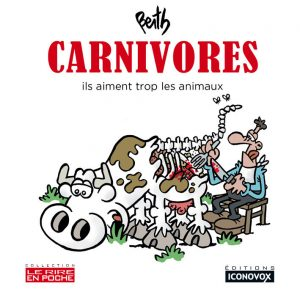 Couverture du Livre de dessin Carnivores du dessinateur BERTH