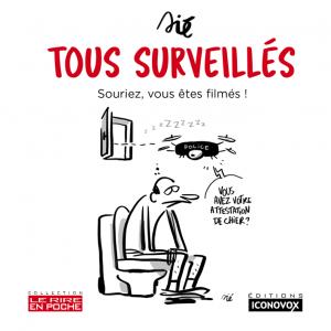 Couverture du Livre de dessins Tous surveillés du dessinateur SIE